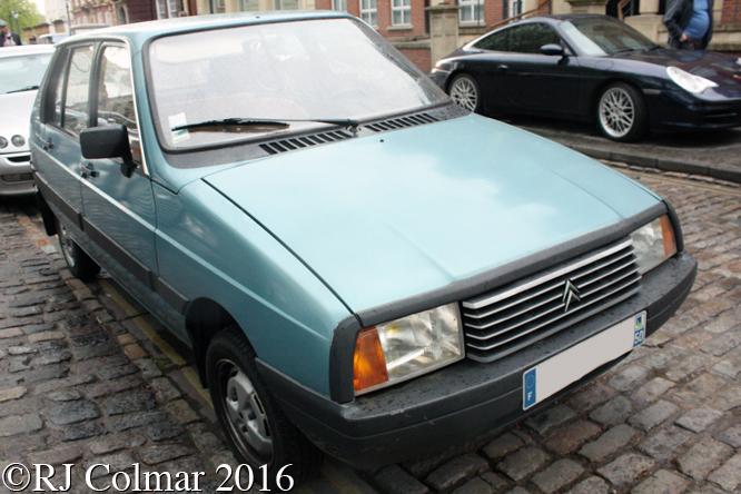 Citroën Visa, Avenue Drivers Club, Queen Square, Bristol,