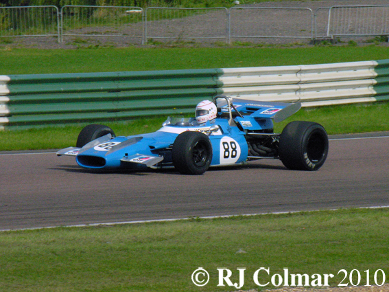 Mike Wrigley, Matra Ford MS80, Mallory Park