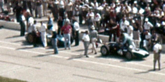 Cooper T54, Jack Brabham, Indy 500
