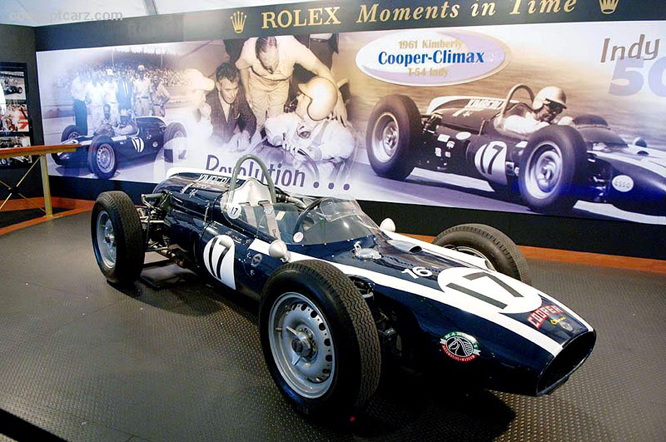 Cooper T54, Rolex Moments in Time.