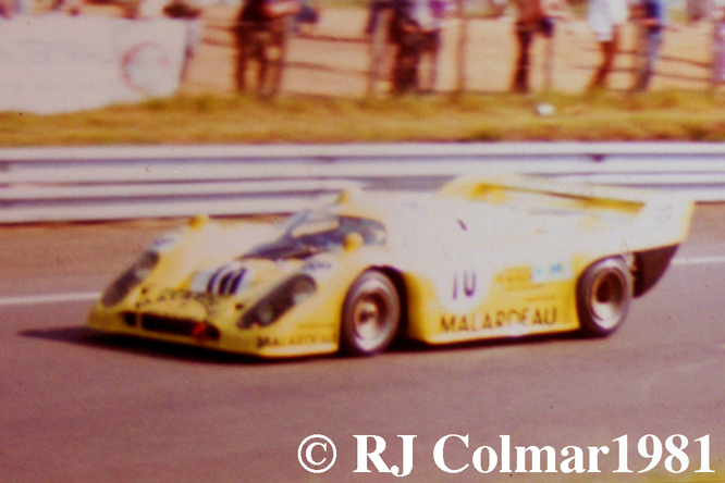 Porsche 917 K81, Le Mans