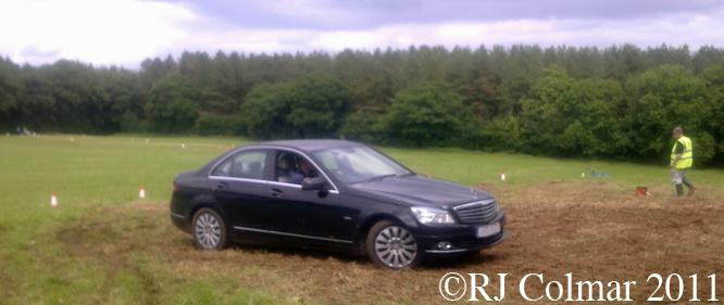 Mercedes 220 CDi, BPMC, Auto Gymkhana