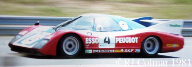WM P79/80, Le Mans