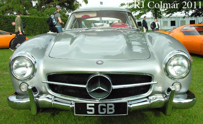 Mercedes Benz 300 SL, Goodwood FoS