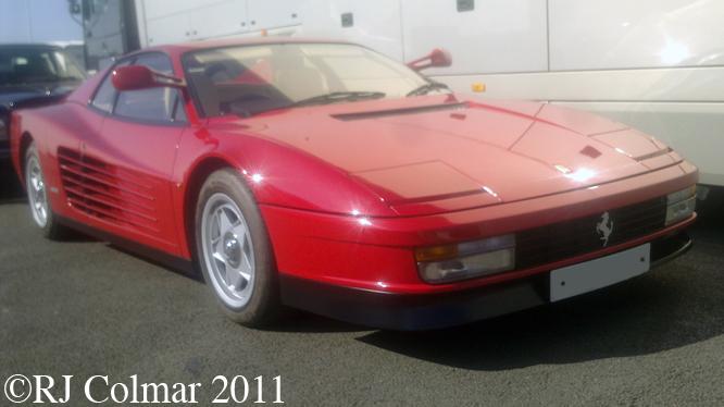 Ferrari Testarossa, Silverstone Classic