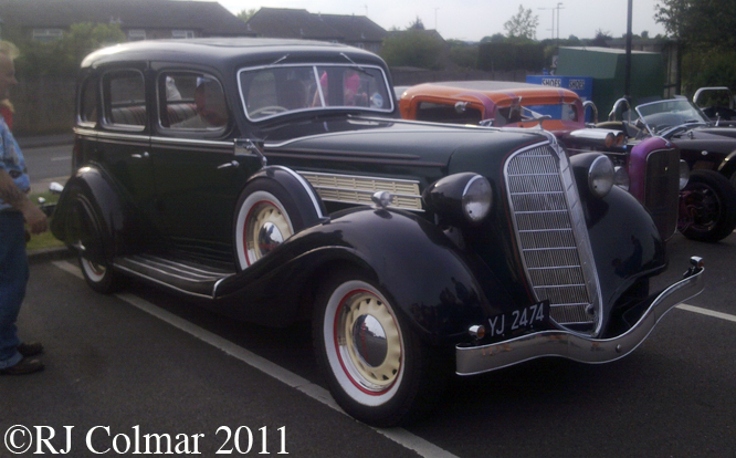 Hudson Suburban Sedan, Independence Day Rally, BPMC