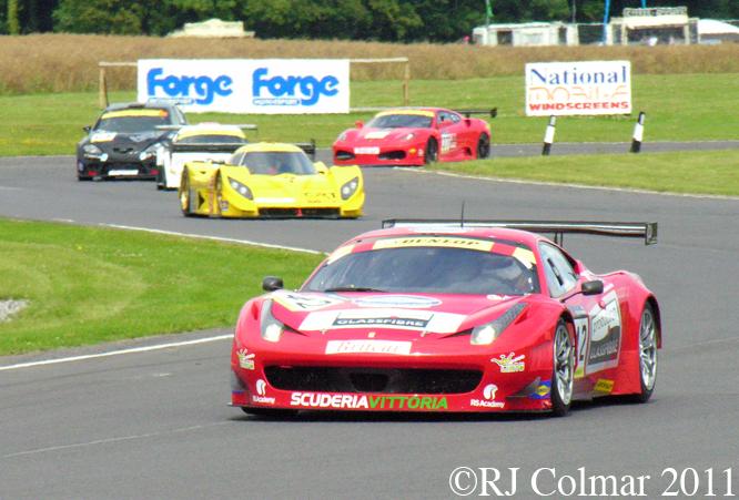 Phil Dryburgh / John Gaw, Scuderia Vittoria Ferrari 458, Castle Combe, BECRW