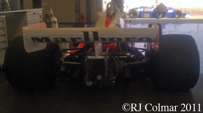 McLaren M26, Silverstone