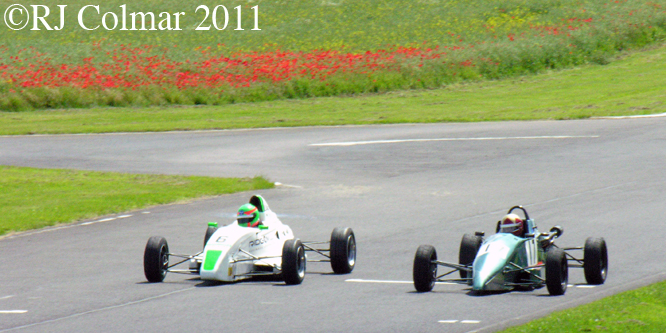 Van Diemen RF00, Swift SC92, Castle Combe