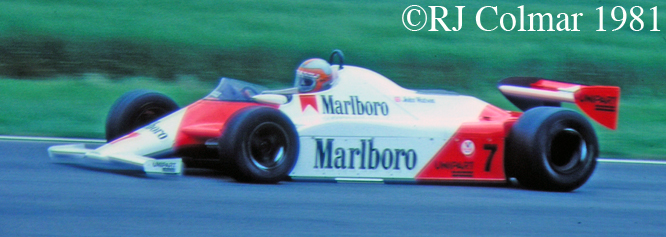 McLaren MP4/1, Silverstone BGP