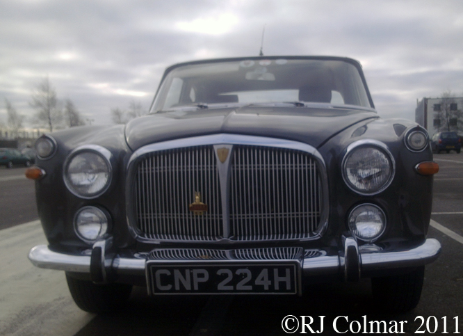 Rover P5B 3.5 Coupé, Mini Factory