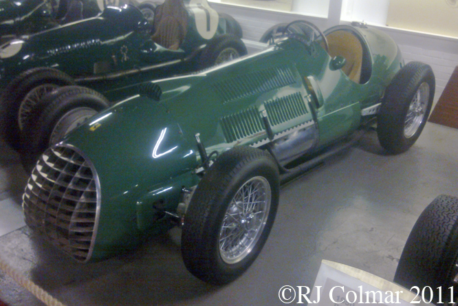 Ferrari 125, Donington Museum