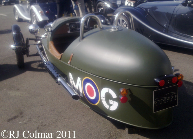 Morgan 3 Wheeler, Silverstone
