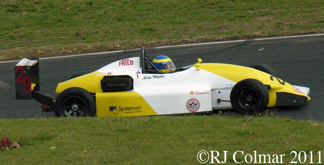 Formula Vauxhall Lotus S2, Mallory Park