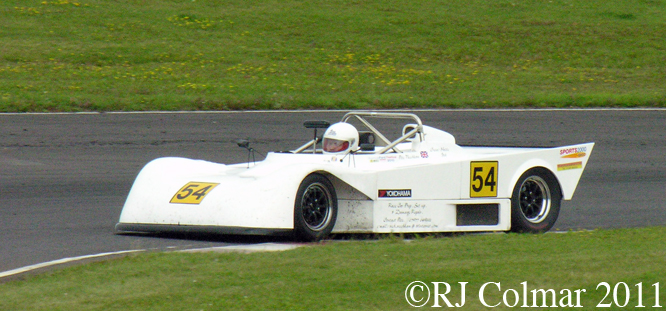 Peter / Harriet Needham, Tiga SC 82