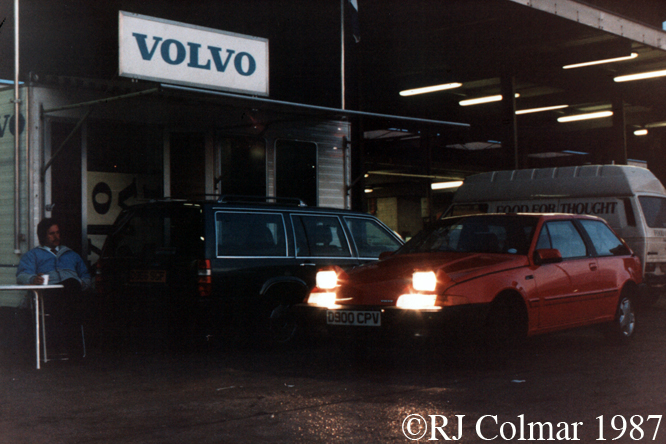 Volvo 480 ES, New Covent Garden