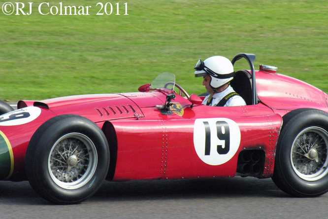 Lancia Ferrari D50A (Replica), Goodwood Revival