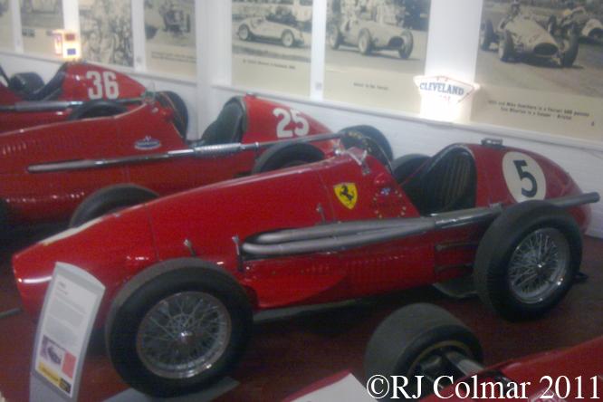 Ferrari 500, Donington