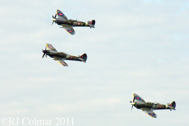 Supermarine Spitfires, Goodwood Revival