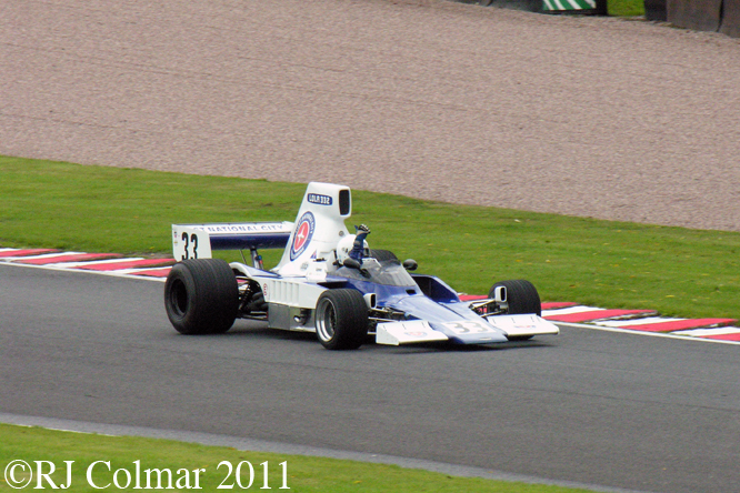 Judy Lyons, Lola T332, Gold Cup, Oulton Park