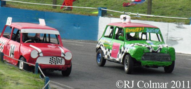 Andy Russel, Aaron Charles, Mendips Raceway
