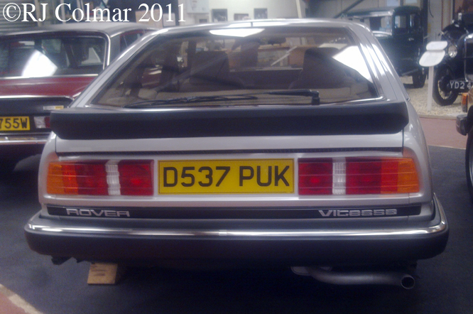 Rover SD1 Vitesse, Atwell Wilson MM