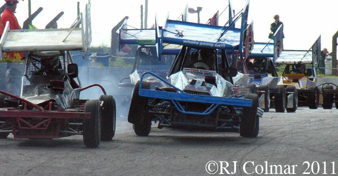 Liam Rowe, Mendips Raceway