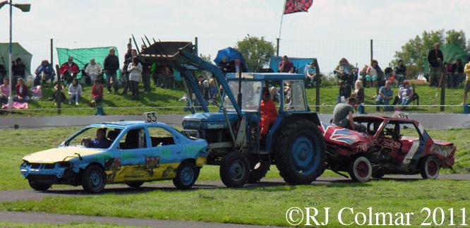 Thunderbird 1 & 4,  Mendips Raceway
