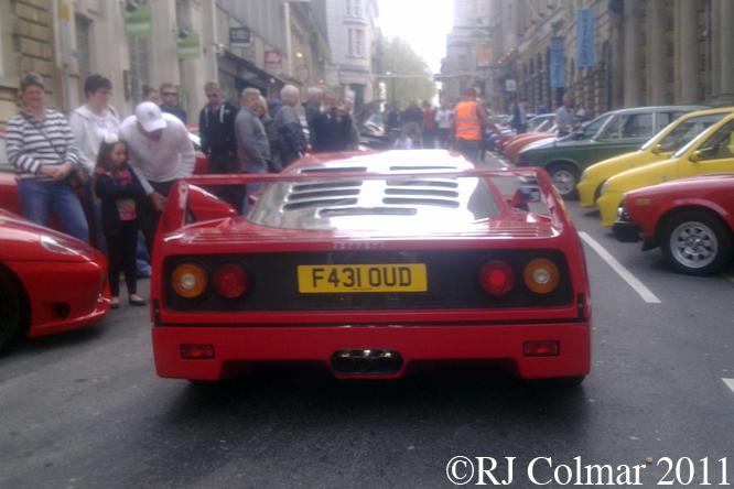 Ferrari F40, Bristol IAMF