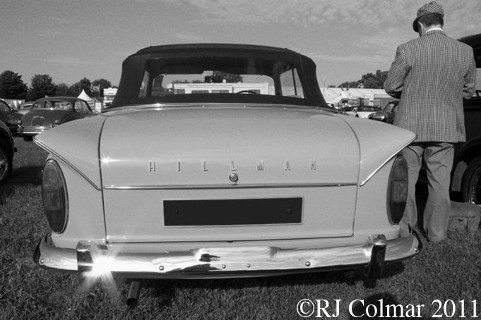 Hillman Minx Convertible, Goodwood Revival