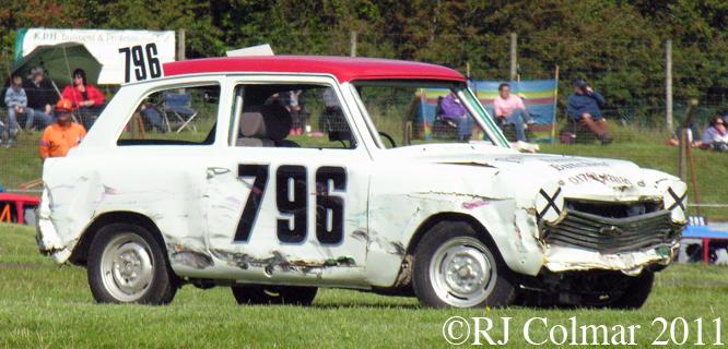 Austin A40 Countryman, Mendips Raceway