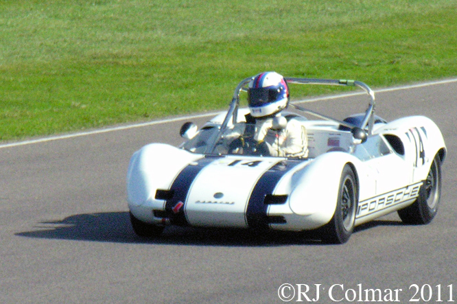 Elva Porsche Mk7P, Helmut Reis, Goodwood Revival