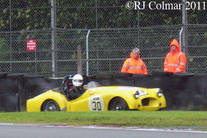 Brian White, Triumph TR2, Gold Cup, Oulton Park