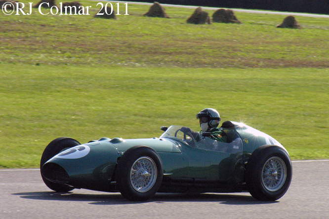 Aston Martin DBR4, Hubert Fabri, Goodwood Revival