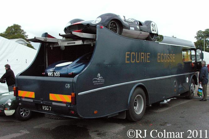 Commer Transporter, Gold Cup, Oulton Park
