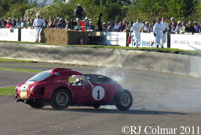 AC Cobra, Gerhard Berger, Goodwood Revival