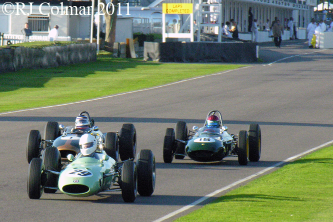 BRP-BRM, Brabham Climax, Lotus BRM, Goodwood Revival