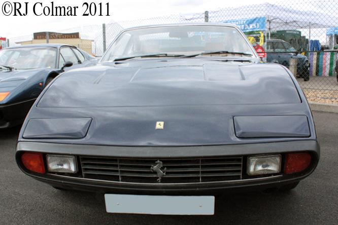 Ferrari 365 GTC/4, Silverstone Classic
