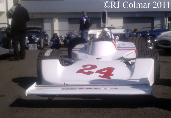 Hesketh Ford 308B, Silverstone
