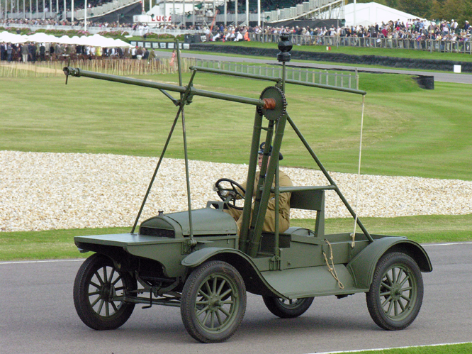 Ford Model T, Huck Starter, 1915, Goodwood Revival