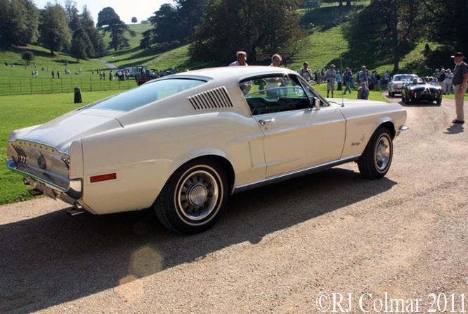 Ford Mustang, 302, Steve Hillcox, Dyrham Park