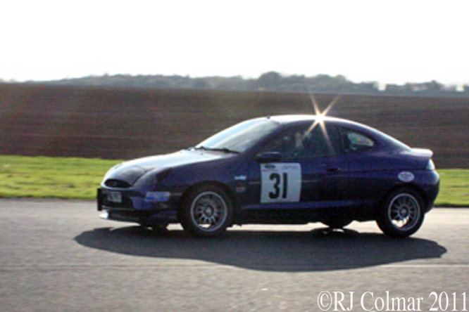 Toby Harris, Ford Puma, The Regency Pegasus Sprint, 15 10 2011