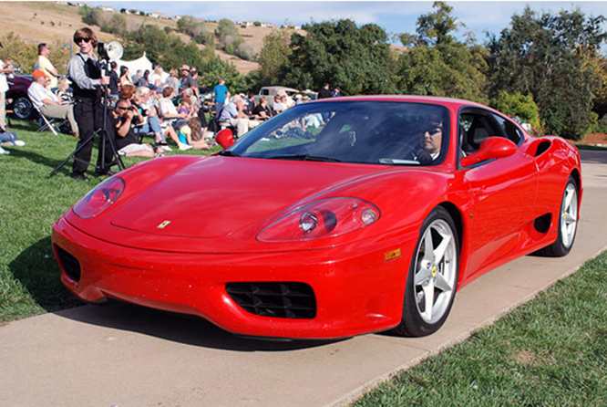 Ferrari 360, Niello Serrano Concours