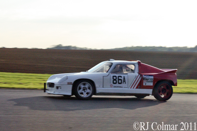 Colin Early, Darrian T9, The Regeny Laundry Pegasus Sprint, Castle Combe 15/10/2011
