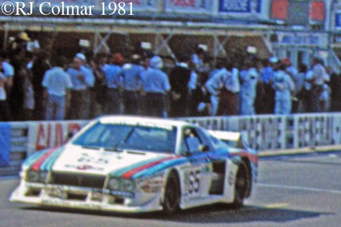 Lancia Montecarlo Turbo, Le Mans