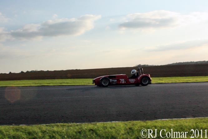 Matt Hillman, SBD Westfield, The Regeny Laundry Pegasus Sprint, Castle Combe 15/10/2011