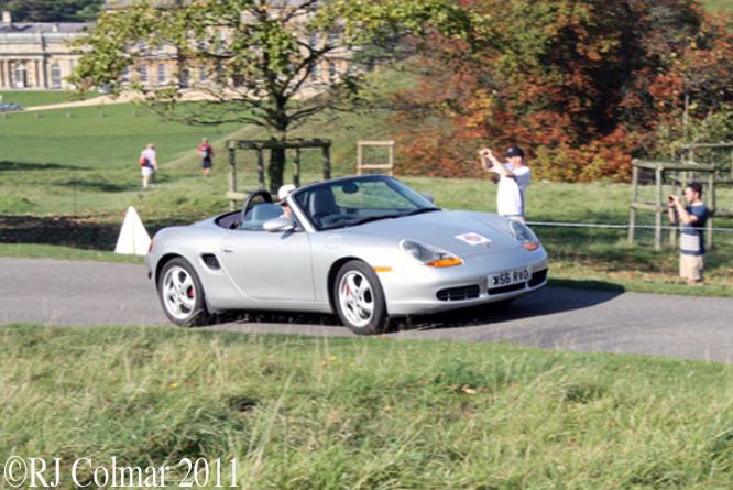 Porsche Boxter, Dyrham Park