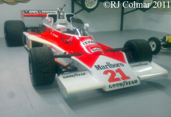 McLaren M23, Donington