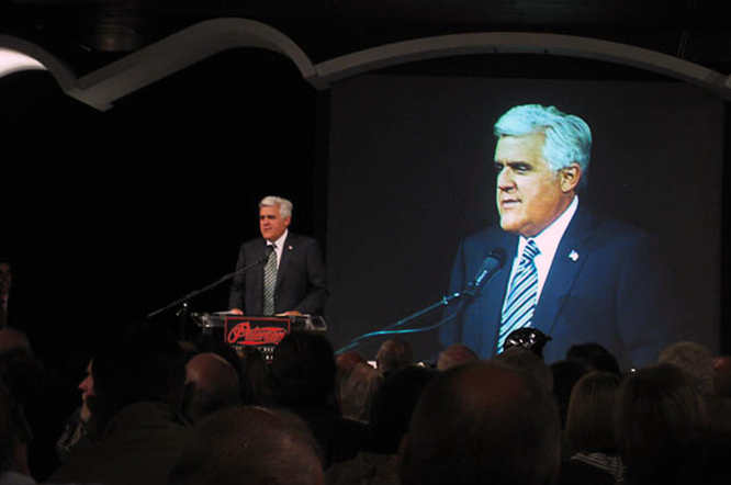 Jay Leno, Phil Hill Tribute, PAM