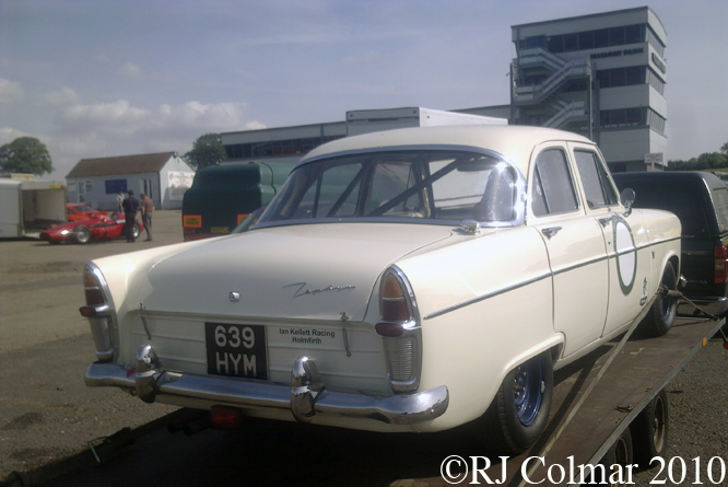 Ford Zephyr Mk2, Mallory Park